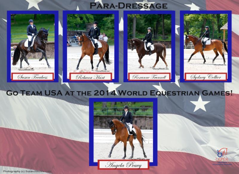 USA WEG Team  by Lindsay Y. McCall Photos by Sue Stickle