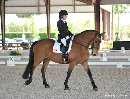 Robyn Andrews (CAN) Grade Ia and Fancianna. Photo by Lindsay McCall
