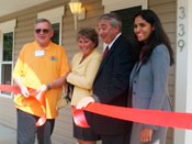Ribbon Cutting at Cape Manor