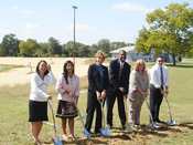 Ground breaking for Edgewater Senior Housing - Abundant Life