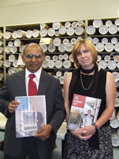 Al Patel and Pam DeLosSantos