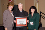 Msgr. Linder wins Lifetime Achievement Award