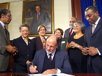 Mortgage Stabilization and HARP Bill Signing