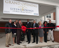 Living Springs Ribbon Cutting