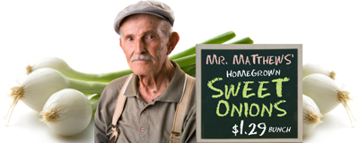 Mr Matthews' Sweet Onions