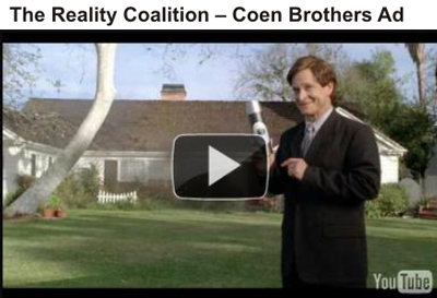 Coen Brothers Reality Coalition ad