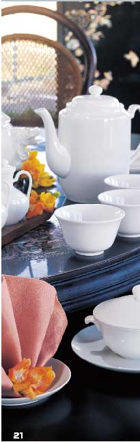 Chinese collection & Soft Sensations introduces Narumi Bone China
