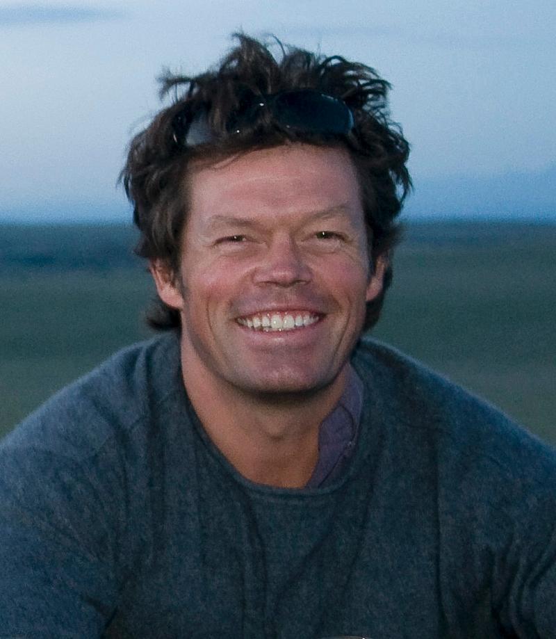 Pete McBride closeup