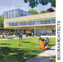 Teaching and learning bldg rendering