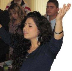 Girl Lifting Hands Edited
