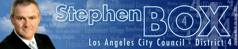 Stephen Box for City Council, 2011 - District 4