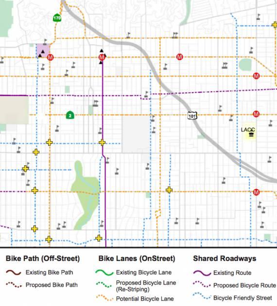 LA Bike Plan