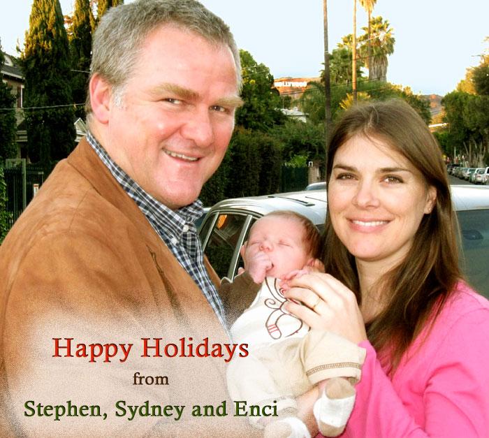 Stephen, Sydney and Enci
