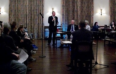 Stephen Box at the Candidate Forum