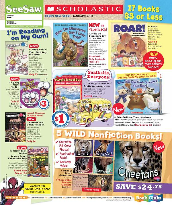 Scholastic Book Orders - Powered By OnCourse Systems For Education