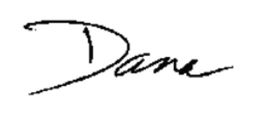 signature - dana
