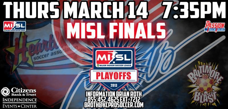 Comets - MISL Finals - 03 11 13