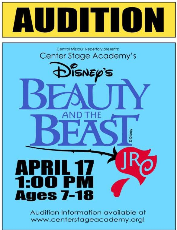 Beauty and Beast Auditions