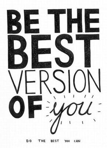 Be the Best You!