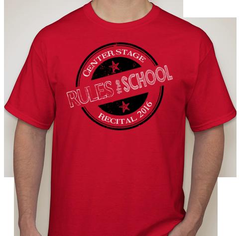 Recital 2016 T-shirt