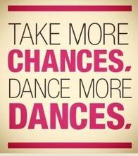 Dance more dances!