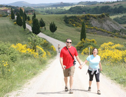 August 2011 News Trekking for Wine in Tuscany