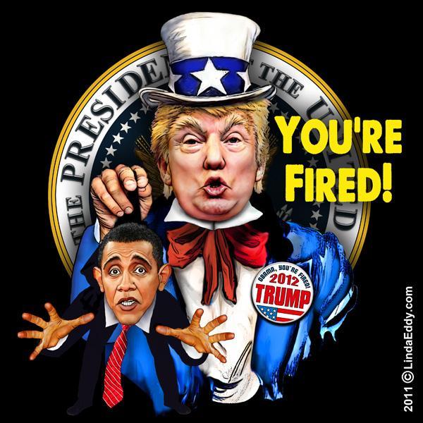 Trump kicking out Obama
