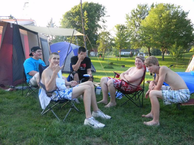 the club camping trip