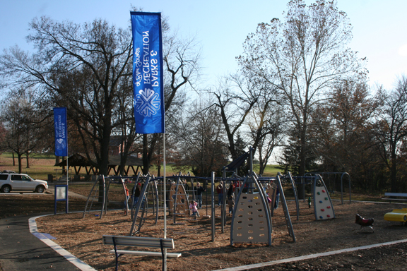 Playground at Blue Springs Park