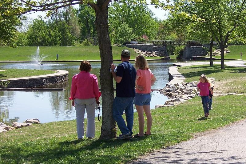 Family at Rotary Park