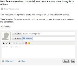 Member Comments