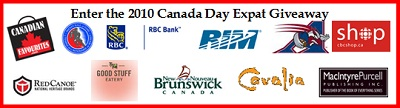 Canada Day Expat Giveaway