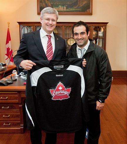 Prime Minister Harper & Mark DeMontis