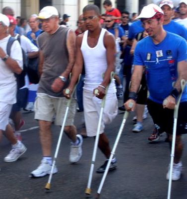 Terry Fox Run in Cuba
