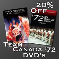 Team Canada DVD's