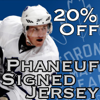 Dion Phaneuf Jersey