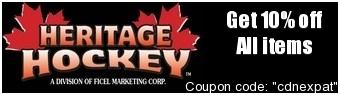 Heritage Hockey Savings