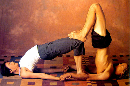Learn To Use Gravity Leverage And Partner Traction Move More Deeply Into Foundational Yoga Poses Develop Trust Compassion Creativity In This Fun