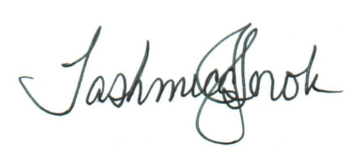 Tashmica's Signature