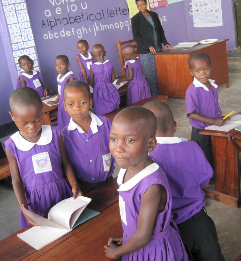 Nyaka Preschoolers