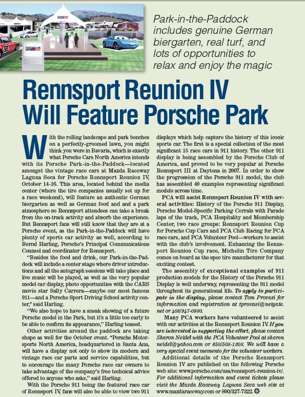 Rennsport Reunion IV Update