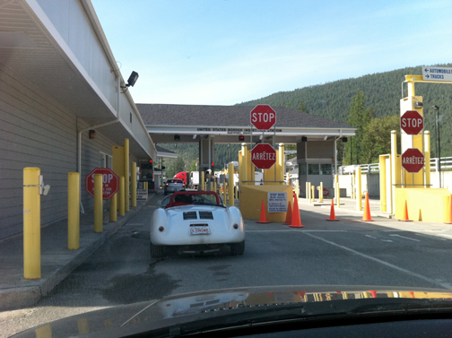 550 to Sonoma Border Crossing