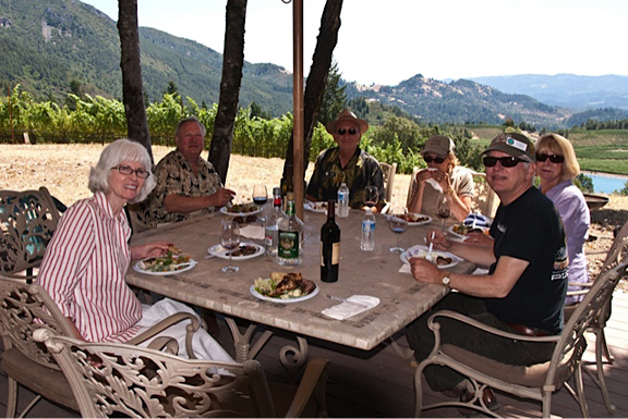 delectus winery tour 2011