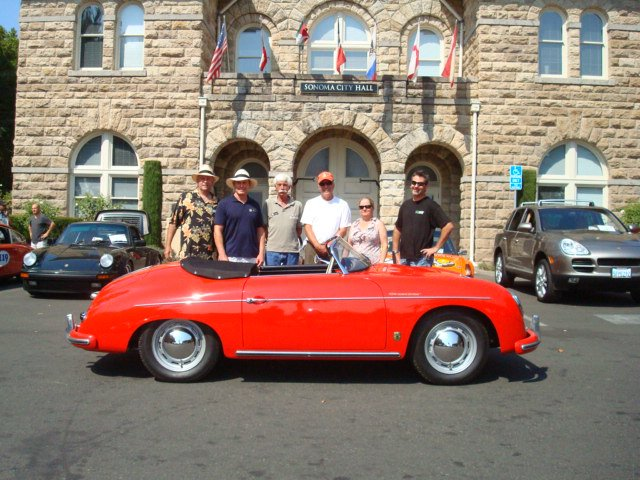 hybiske speedster on the plaza