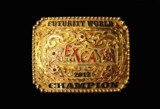 World 2012 Futurity Buckle