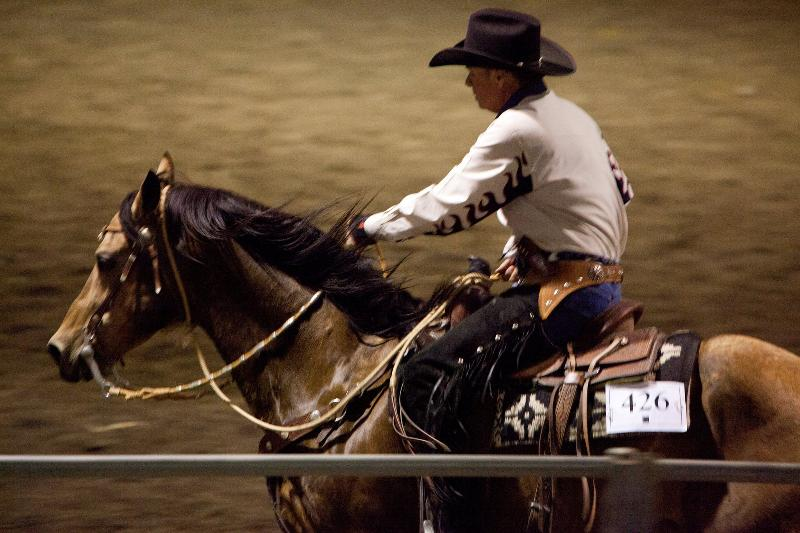 Dun It For Money with Bill Cameron La Pomona Equine Affaire 2011