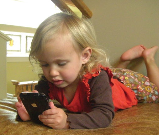 Child cell phone use