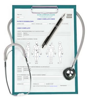 Doctor's clipboard