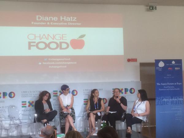 Diane @ Milan Expo