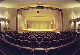 Harmony Hall stage